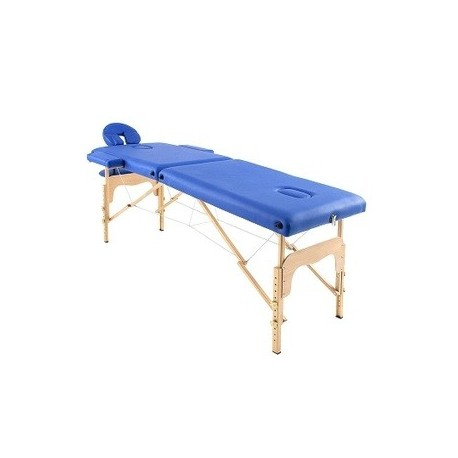 Camilla plegable masaje de madera 194 x 70 cm