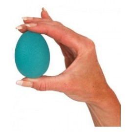 Huevo terapéutico para ejercicios de rehabilitación.