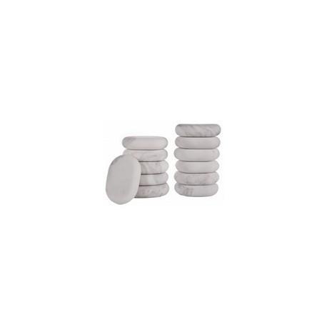 Piedras de marmol frías para terapia. 12 unidades (064-HML12)