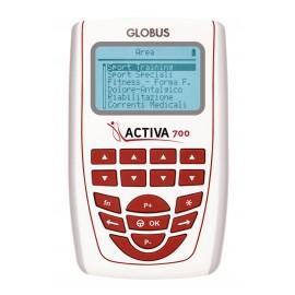 Electroestimulador GLOBUS Activa 700 con 4 canales y 271 programas