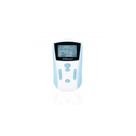 Electroestimulador TENS ECO 2 para tratamientos del dolor de 2 canales (HELI-104062)