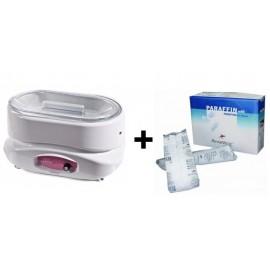 PACK AHORRO Calentador de parafina + 4 kg de parafina (817-8002B)