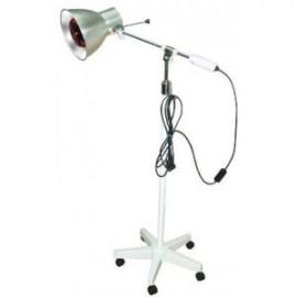 Lámpara de infrarrojos de pie rodable con bombilla de 250W (MILLAS-E21A)