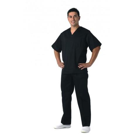 Casaca sanitaria unisex en color negro (B9200)
