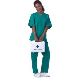 Casaca sanitario unisex en color verde (B9200)