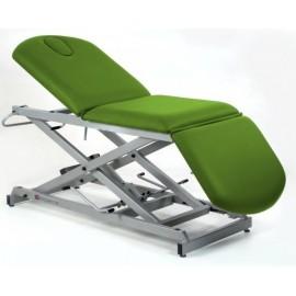 Camilla de reconocimiento hidráulica tipo sillón de 3 secciones, con subida vertical MOBERCAS