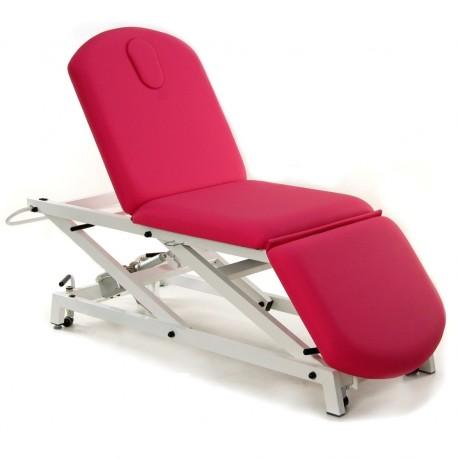 Camilla de reconocimiento hidráulica tipo sillón de 3 secciones LOGARSALUD