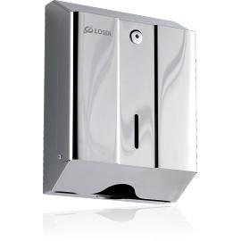 Dispensador de papel toalla, Acero inox  (CO-0104-F)