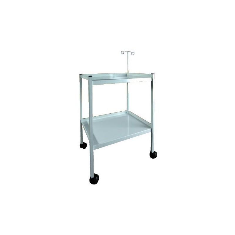 Mesa para electro con soporte regulable para cables con 2 - Soporte para baldas ...