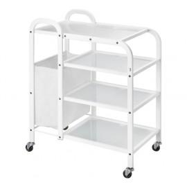 Carrito 4 estantes (SIL-0003)
