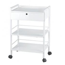 Carrito Easy 3 estantes y cajón (SIL-1019A)