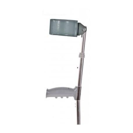 Muleta de aluminio regulable en altura  (183-933L)