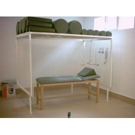 Cabina de Rocher con accesorios y camilla incluidos (REG-FM-88)