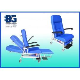 Sillón de tratamiento y traslado de enfermos con ruedas (BG-238)