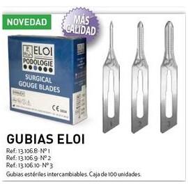 GUBIAS ESTERILES ELOI 100 Ud. (Varios tamaños)