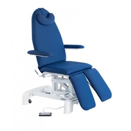 Camilla eléctrica-sillón podología con brazos elevables, 62x188 (C-3567-M44)