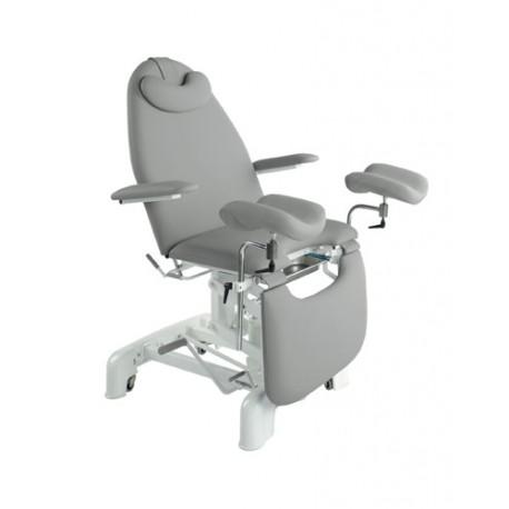 Camilla hidráulica-sillón ginecología con brazos elevables, 62x182 (C-3765-M41)