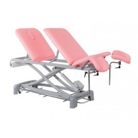 Camilla eléctrica ECOPOSTURAL sillón de ginecología de 3 cuerpos con elevación vertical (C-3981-M47)