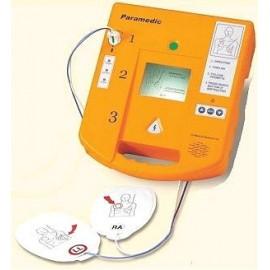 Desfibrilador semiautomatico DEA con pantalla, voz , mochila y parches (BIANC-EME-CU-ER1)