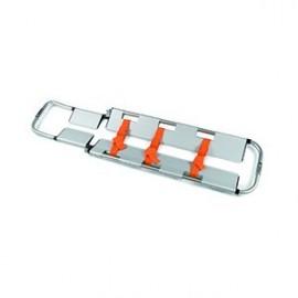 Camilla pala de aluminio, con juego de 3 correas de inmovilización (EME10502)