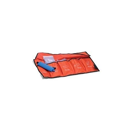 Férulas de aire para primeros auxilios. Juego 4 piezas (EME21376)