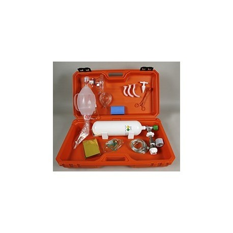 Maleta de emergencia médica completa (INOX-001594)