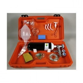 Maleta de emergencia médica completa (INOX-05478)