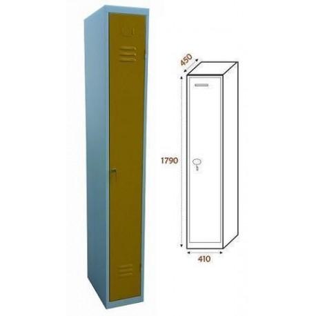 Taquilla Ancho 410. 1 Cuerpo. 1 Puerta (BG-T435/1)