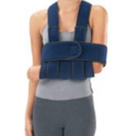 Soporte de brazo con banda toraxica
