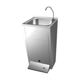 Lavamanos con grifo de accionamiento pie (FRIC-061012)