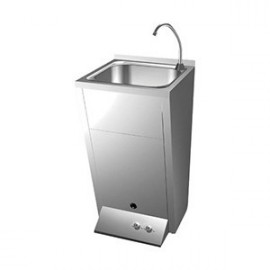 Lavamanos registrable con pedal dos aguas (FRIC-061014)