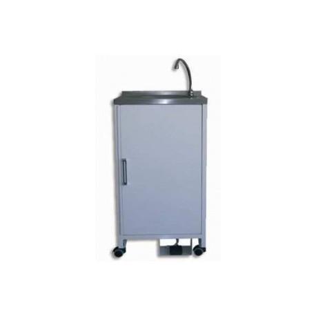 Lavamanos portátil sin conexión. acero inox esmaltado (HOS-0001)