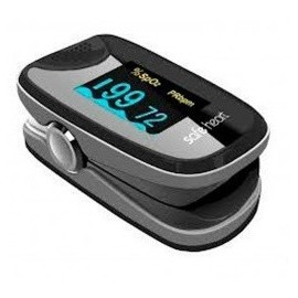 Pulsioxímetro de Dedo Adulto Safe Heart SHO-2, con Onda Plestimografica (FI-SHO-1002)