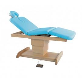 Camilla eléctrica madera, 3 cuerpos extraconfort, columna central, cabezal extraible(C-6203-M66)