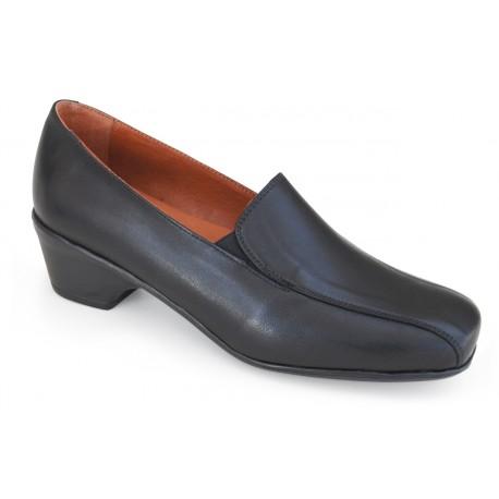 Zapato de piel PRINCESA TACÓN (FZC-0012)