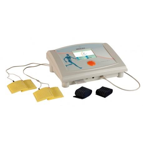 Electroestimulador Therapic 9200. Aparato para electroterapia de baja (BF) y media frecuencia (MF) de 2 canales independientes (