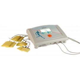 Electroestimulador Therapic 9400. Aparato para electroterapia de baja (BF) y media frecuencia (MF) de 4 canales independientes (