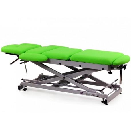 Camilla eléctrica multifuncional para osteopatía de 9 secciones con ruedas (CE-0197-R)