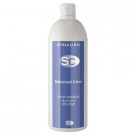 Universal Crem, 1000 ml, crema de masaje con aceite de almendras y dosificador (SC-502UC)
