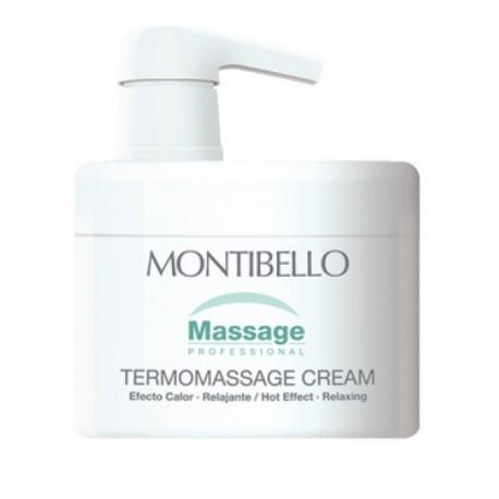 Crema de masaje TERMOMASSAGE 500ml Montibello