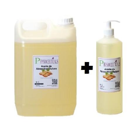 Aceite de Almendras dulces garrafa de 5 litros mas bote 500ml con dosificador (IFA-001)