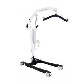 Grua eléctrica hasta 150kg con sistema de apertura de pedal + arnes incluido (ORT22220SP)