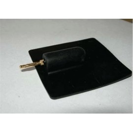 Electrodos silicona reutilizable con clavija macho 2mm