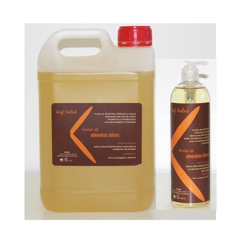 Garrafa de aceite de almendras Alto rendimiento 5 litros + bote ...