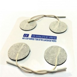 Electrodos Faciales adhesivos Circular de 3 cm de diámetro para TENS-EMS (LACA-VS30)