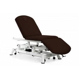 Camilla Eléctrica 3 tipo sillón 3 cuerpos mobercas, ruedas escamoteables (CE-2135-R)