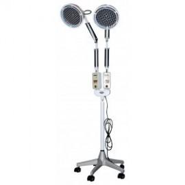 Lampara tdp con 2 cabezas y pie, infrarrojos biotérmica (NO-EA1014)