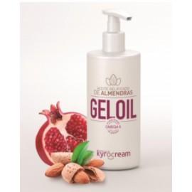 Aceite Gelificado Gel oil Kyrocream de granada,Omega 5,  y almendras 500ml (KYROGELOIL)