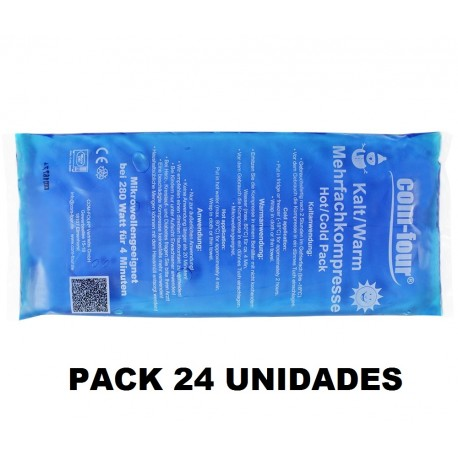 24 Bolsas frio calor reutilizable 13x28cm gelificadas (KL-007916)