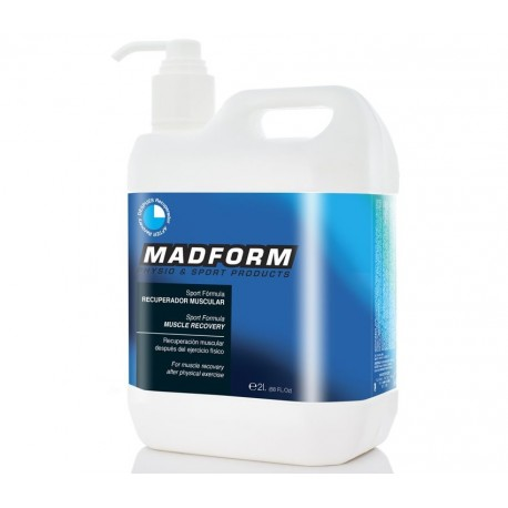 Crema  efecto frío/calor Mad Form Sport Formula 2000 ml (MD277)